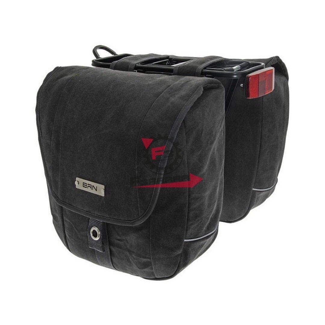 BO23N COPPIA COPPIA COPPIA BORSE TEX NERE A BISACCIA | Imballaggio elegante e stabile  | Materiale preferito  967820