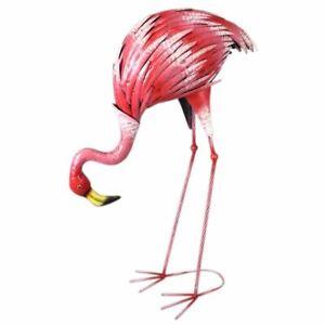Flamingo-73cm-Metal-Bird-Decoration-Garden-Ornament-Figure-Pond-Spike