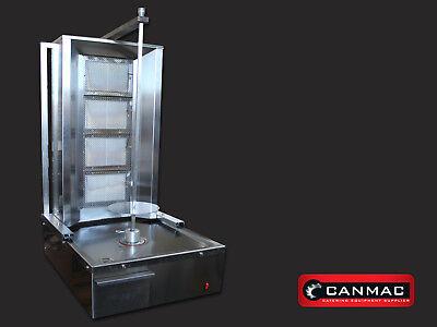 2 x LPG 4 Burner CANMAC Doner Kebab Machine