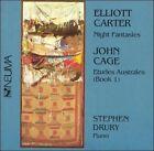 Eliott Carter: Night Fantasies; John Cage: Etudes Australes (Book 1) (CD, Dec-1995, Neuma)