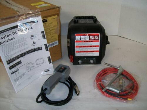 NEW Electric Winch 1HP 12VDC with Control Pendant 14L039 (B100RS)