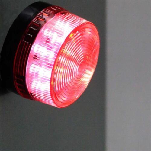 LED Signalleuchte rot zB für Alarmanlage Warnsignal Blitzfunktion Warnleuchte
