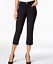 Lee-Platinum-Womens-Capri-Pants-Easy-Fit-Cameron-Cuffed-Cropped-Jeans-Black-56 thumbnail 1