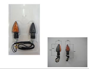 FCC1 FRECCE CARBON LAMPADA CORTE 62x31 mm OMOLOGATE per HUSQVARNA TC 125//250//449