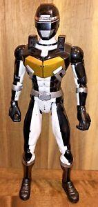 "Vintage Power Rangers Operation Overdrive Bandai 2002 Action Figure Black 12"""