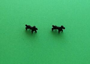 Corgi-Mary-Chipperfield-No-511-Black-Poodles-X2-Metal-Casting-spare-parts