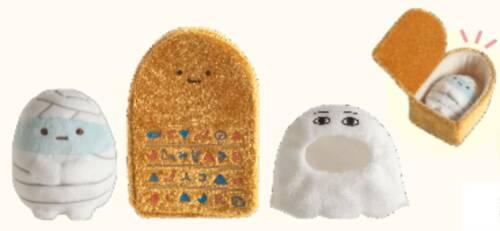 Sumikko Gurashi Egypt Exhibition Leiden Collaboration 8 set Tenori Plush Stuffed
