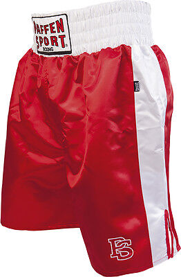 Amabile Paffen Sport-pro Boxer Pantaloni. S-xxl. Rosso/bianco. Box Da Professionista. Gara Allenamento.-f. Training It-it Garanzia Al 100%