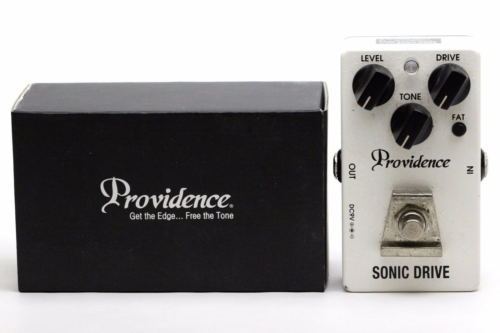 Adapter Recommended - Providence SDR-5 SNIC DRIVE Effect Pedal Made in Japan