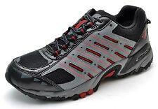 Columbia NORTHBEND OT Waterproof Hiking Trail Shoes Gray Black Men's 8 - NEW