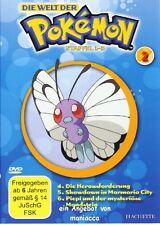 DIE WELT DER POKEMON 2   1. Staffel / Folgen 4-6    DVD #ZZ   Pokémon