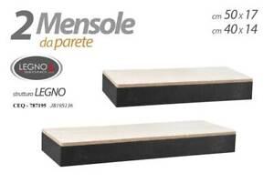 2-Mensole-da-Parete-Scaffali-a-Muro-Pensile-Mensola-in-legno-Mdf-Bicolore-Arredo