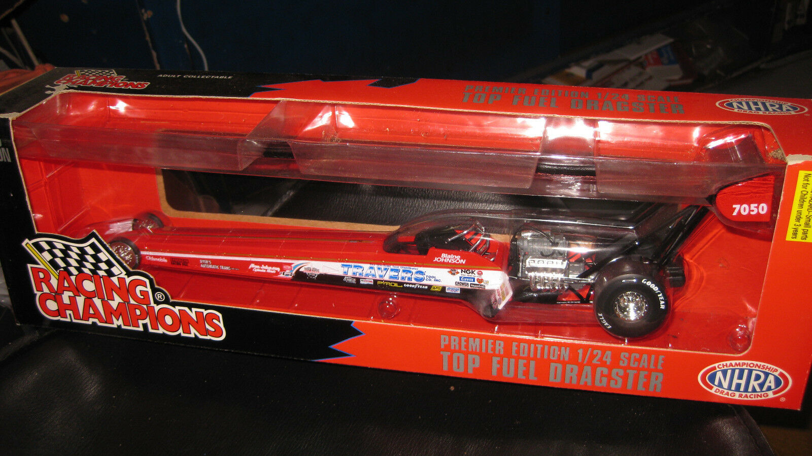 1.24 RACING CHAMPIONS NHRA TOP FUEL DRAGSTER DRAGSTER DRAGSTER 1996 TRAVERS  BLAINE JOHNSON   G 992b89