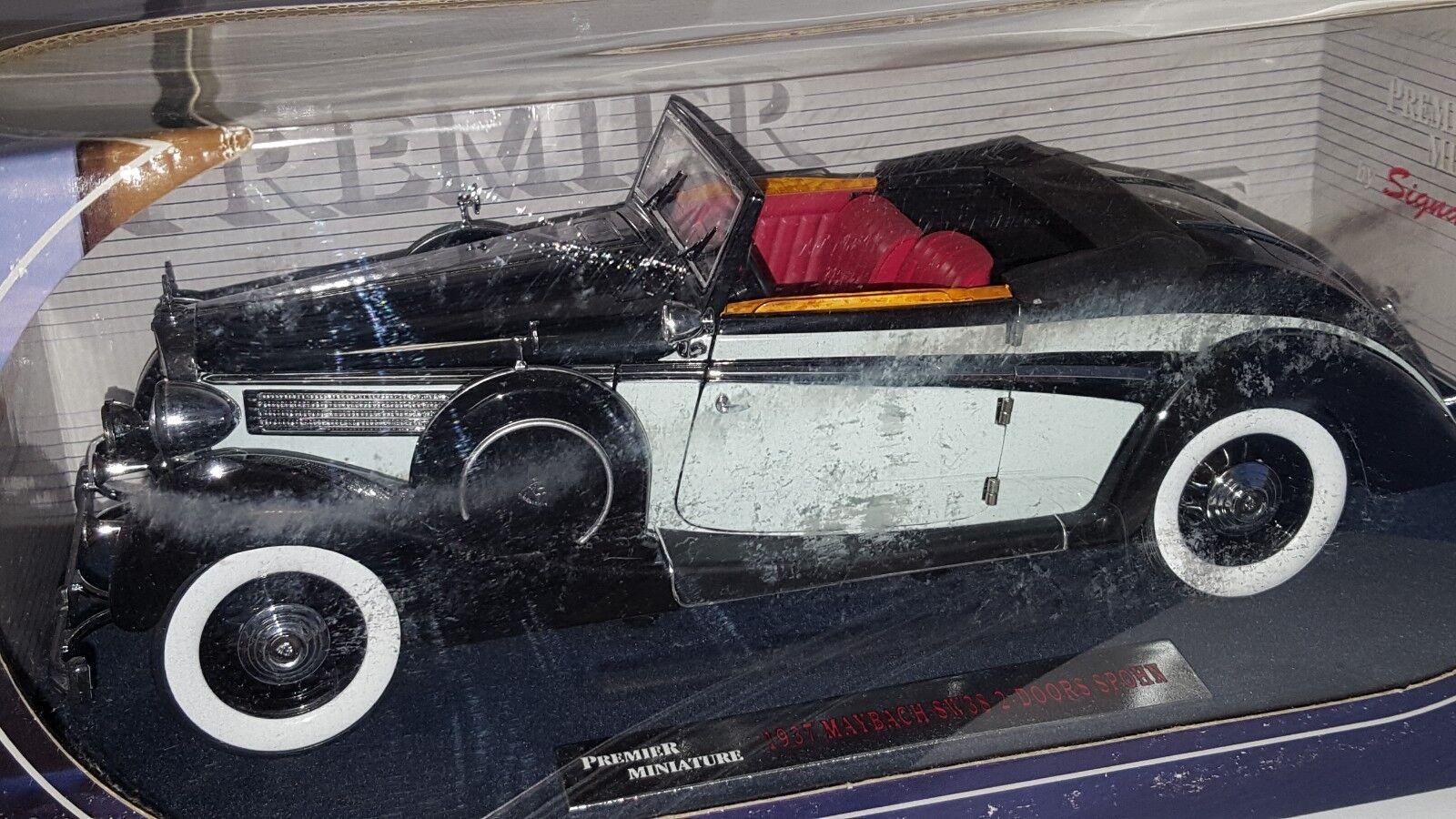 1 18 modelos de firma Premier Miniatura 1937 Maybach SW382 2 puertas Spohn RD