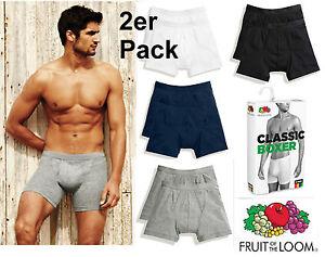 024f0c8d5ff0ea Details zu 2 er Pack Classic Boxer Fruit of the Loom Unterhose Unterhosen  Boxershorts eng