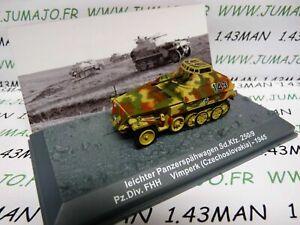 PZ24T-Tank-militaire-1-72-PANZER-n-24-leichter-SdKfz-250-9-Pz-div-FHH-Czech-1945
