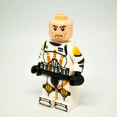 STAR WARS CLONE TROOPER Commander Cody Custom Lego Revenge Of The Sith