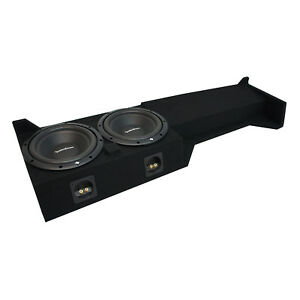 05-15 Fits Nissan Frontier Crew Cab Truck Rockford R1S410 Dual 10 Sub Box 2 Ohm