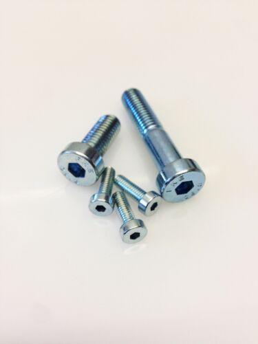 Cap screw low-floor with Hollow Hex tcbz in Galvanized Iron