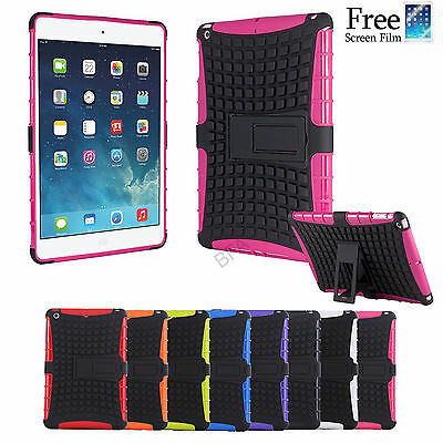 Heavy duty Shockproof Tough Cover Case for iPad Air 1 2 iPad mini iPad 4 3 2