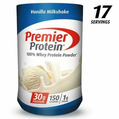 Premier Protein Whey Protein Powder Vanilla 28 oz Gluten ...