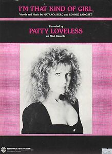 Patty-Loveless-i-039-M-That-Kind-Of-Chicas-US-Hoja-Musica
