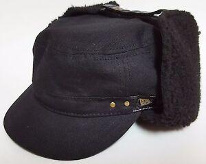 df31903bafca3 NEW ERA EK Collection LONGFIN MILITARY Cap ($47) Hat Fitted EAR FLAP ...