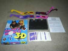 Wayne's World 3-D Card Game ANAGLYPH w Original Glasses & all 54 Cards 1992