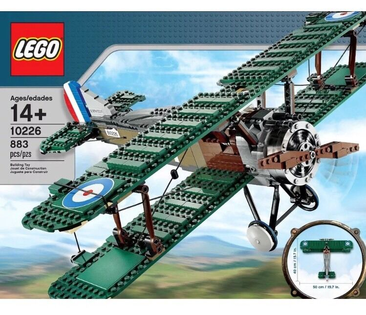 LEGO Set - Sopwith Camel Bi-Plane - 10226 - New & Sealed
