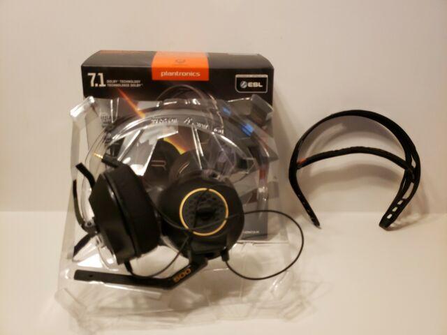 Plantronics RIG 500 Black Headband Headsets