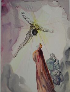 Dali-Salvador-Paradise-14-the-Christ-Wood-Engraved-Original-Divine-1960