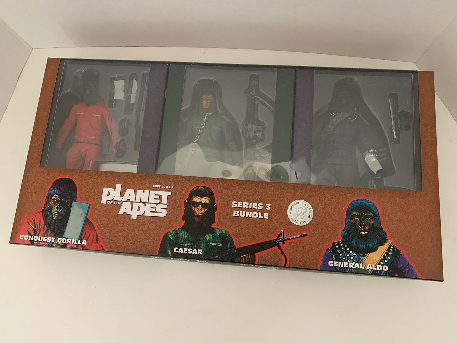 SDCC 2015 NECA Exclusive Planet of The Apes Classic Series 3 Collectible ( Rare)