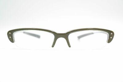 100% QualitäT Onkel Spyk 50[]16 145 Grün Silber Halbrand Brille Brillengestell Eyeglasses Neu