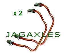 Jaguar REAR CALIPER BRIDGE PIPES E-Type S2/3 XJ6 S1/2/3 XJS XJ12 x2 AEU1068 JAS