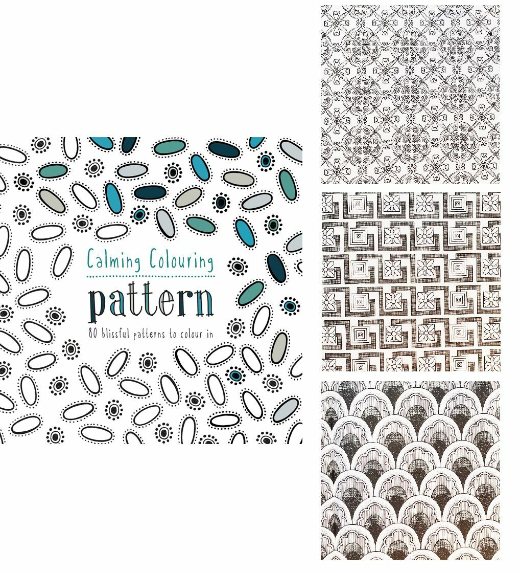 Adult Coloring Book CALMING COLOURING PATTERNS Color