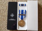 ORIGINAL NATO  MEDAL - ACTIVE ENDEAVOUR  - NEW IN BOX OF ISSUE
