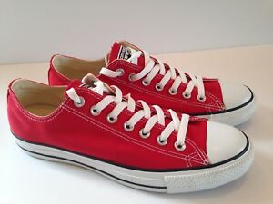 cheap prices usa cheap sale affordable price Details about Converse Unisex Chuck Taylor All Star Ox Red M9696
