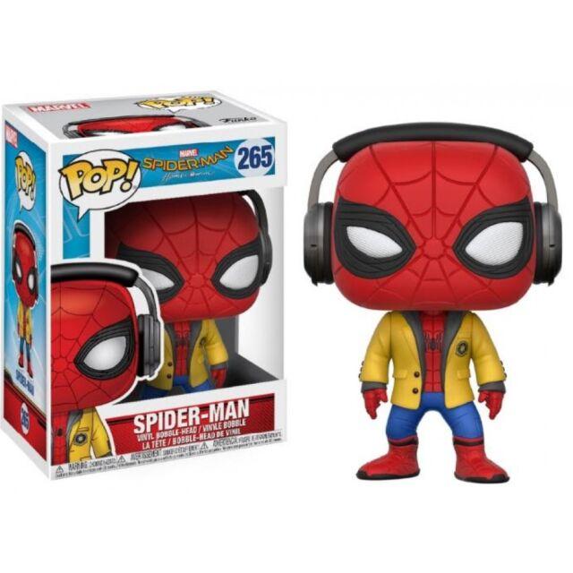 Spider-Man Homecoming Pop Funko Spider-Man Headphones Vinyl Figure Marvel n°265