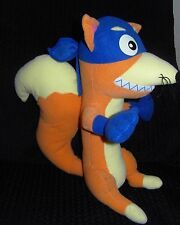 "RARE LARGE 15"" FISHER PRICE DORA THE EXPLORER SWIPER FOX SOFT TOY 2004"