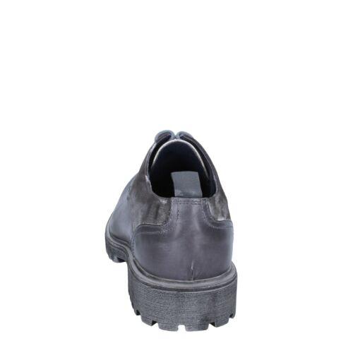 scarpe uomo OSSIANI 43 EU classiche grigio pelle BS722-43