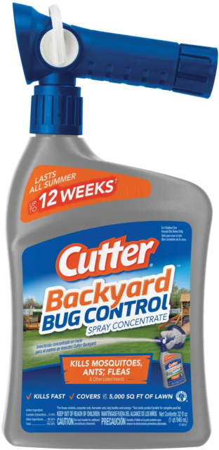 Cutter Backyard Bug Control Spray Concentrate, 32-Ounce | eBay