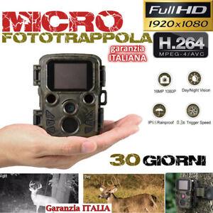 FOTOTRAPPOLA-MIMETICA-SPIA-MICRO-MINI-VIDEOCAMERA-INFRAROSSO-INVISIBILE-12MP-HD