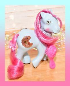 ❤️My Little Pony MLP G1 Vintage Princess Royal Blue Sapphire Moon Jewel 1987❤️