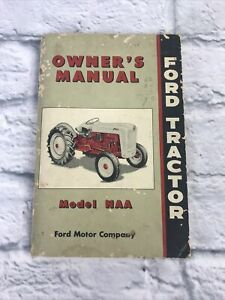 Ford Tractor Manual Model NAA