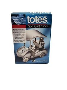Totes-Golf-Cart-Clock-Canaopy-Clubs-Watch