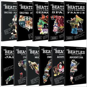 Lote-11-libros-los-Beatles-en-todo-el-mundo-EE-UU-Reino-Unido-Alemania-Japon-Espana-Francia