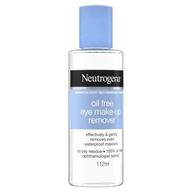 Neutrogena Oil-Free Make-up Remover 112mL Effective & Gentle No Oily Residue