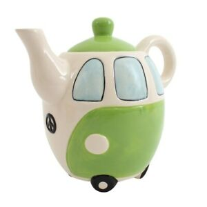 Fun-Campervan-Teapot-with-Peace-Sign-to-Gift-or-use-in-the-Campervan-or-Kitchen