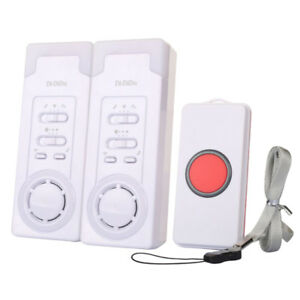 1For2-Caregiver-Personal-Pager-System-Emergency-Care-Wireless-Alarm-Alert-System