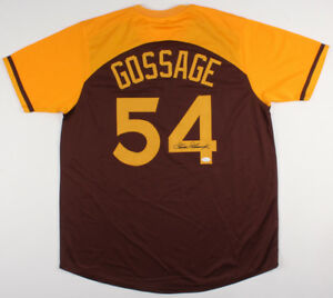 huge selection of dbf6e 41710 Details about Goose Gossage Signed San Diego Padres Jersey (JSA COA) 1984  NL Champions Closer